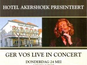 Ger Vos Live in Concert