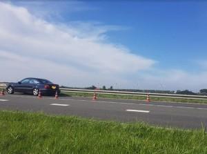 Botsing Oudelandsedijk N215 Nieuwe-Tonge
