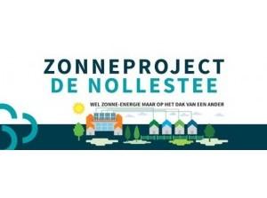 Collectief zonneproject de Nollestee in ontwikkeling