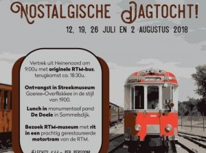 2 augustus laatste tocht RTM museum en Streekmuseum