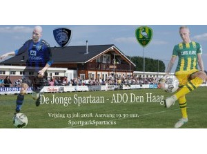 Oefenwedstrijd De Jonge Spartaan - ADO Den Haag in Middelharnis