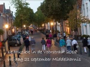 Presentatie programma zesde editie Muziek in de Voorstraat