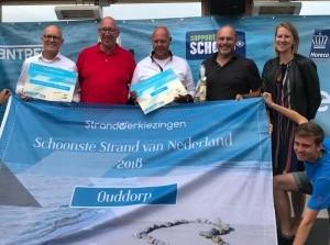 Goeree-Overflakkee heeft het schoonste strand van Nederland!