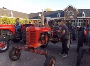 Alvast in landelijke sfeer voor aanstaande Diekdag met tractoren