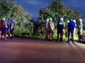 Eenzijdig ongeval Oudelandsedijk Stad aan 't Haringvliet