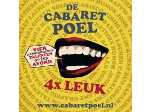 De Cabaretpoel, Vier keer leuk! speelt in Ons Dorpshuis