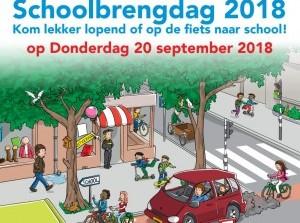 Schoolbrengdag:Kom lopend of fietsend naar school!