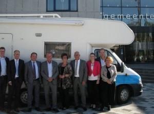 Nationale ombudsman bracht bezoek aan Goeree-Overflakkee
