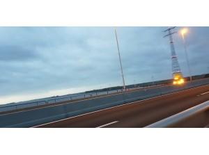 Losse paal zorgt voor afsluiting A29 Haringvlietbrug