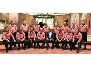 200 jaar Stille Nacht - Kerstconcert Urker Mans formatie in Dirksland