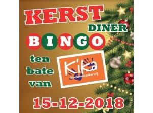 Doe mee met Kerst-diner-bingo voor KiKa Goeree-Overflakkee