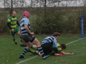 Rugbyers Flakkee verslaan nummer 3