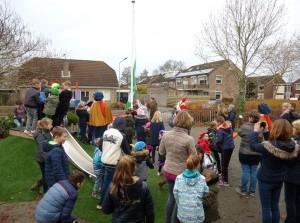 Groene Vlag voor basisschool Albert Schweitzer uit Stad aan 't Haringvliet
