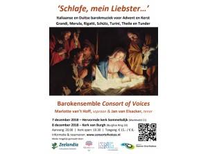 Kerstconcert Consort of Voices: 'Schlafe, mein Liebster…'