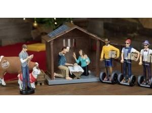 Kerststallen en -groepen in Exoduskerk Sommelsdijk