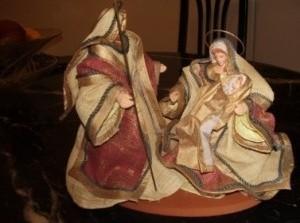 Expositie kerststallen