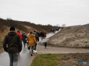 Foto's van de Nieuwjaarsduik in Ouddorp