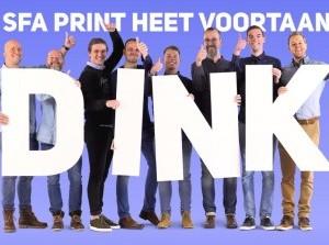 Reclamebureau Sfa Print heet voortaan DINK