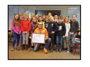 Groep 5 en 6 CNS Zomerland Stellendam strijden voor KiKa