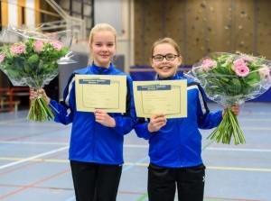 Marije en Ailynn geslaagd voor junior assistent in Sommelsdijk