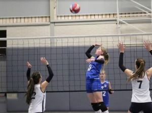Mooi begin volleybalseizoen voor Intermezzo MB1