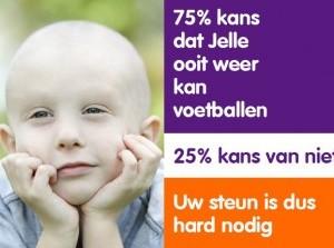 Strik je veters voor KiKa en steun onderzoek kinderkanker