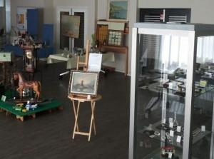 Verkoopdagen van kunst, antiek en design in Exoduskerk Sommelsdijk