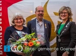 Brandweerman Kees Bal uit Ooltgensplaat ontvangt Koninklijke onderscheiding