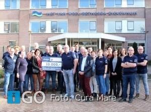 Cheque voor oncologie Van Weel-Bethesda Ziekenhuis Dirksland