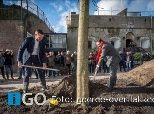 Startsein restauratie Fort Prins Frederik Ooltgensplaat