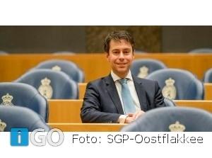SGP Tweede Kamerlid Stoffer spreekt in Ooltgensplaat: Bouwen en bewaren