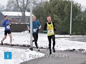Eric Wolfert zegeviert in 5e Blaauwbekmarathon Winschoten