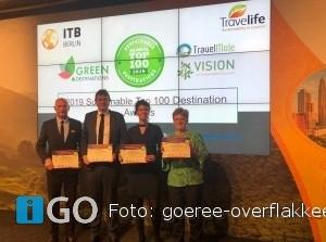 Ook Goeree-Overflakkee benoemd tot beste duurzame natuurbestemming wereldwijd!