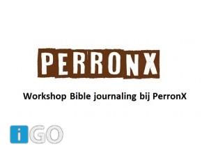 Creatief avondje Bible journaling bij PerronX