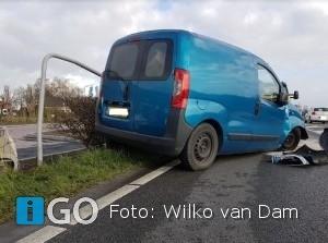 Eenzijdig ongeval N215 Nieuwe-Tonge