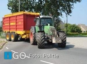 Politie extra aandacht land- en tuinbouwvoertuigen Goeree-Overflakkee