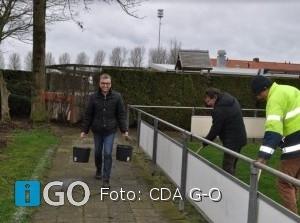 CDA Goeree-Overflakkee actief bij 't Buurthuus Achthuizen met NLdoet