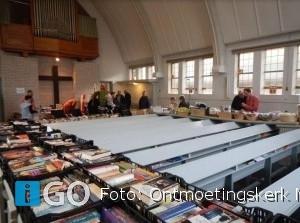 Welkom op Lentemarkt rondom ontmoetingskerk in Melissant
