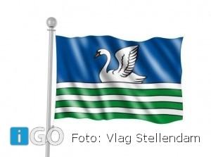 Stellendamse vlag nu ook te koop bij Streekmusuem Goeree-Overflakkee