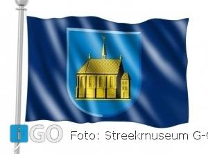 Vlag van Den Bommel nu ook te koop bij Streekmuseum Goeree-Overflakkee